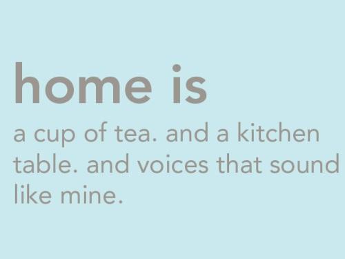 home-tea